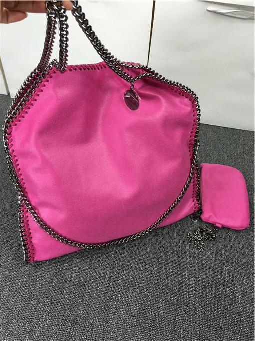809 styles W37cm * H36 cm* D8cm 17 color Women`s fold over 3 Chain big size Tote shoulder Bags Measurement :