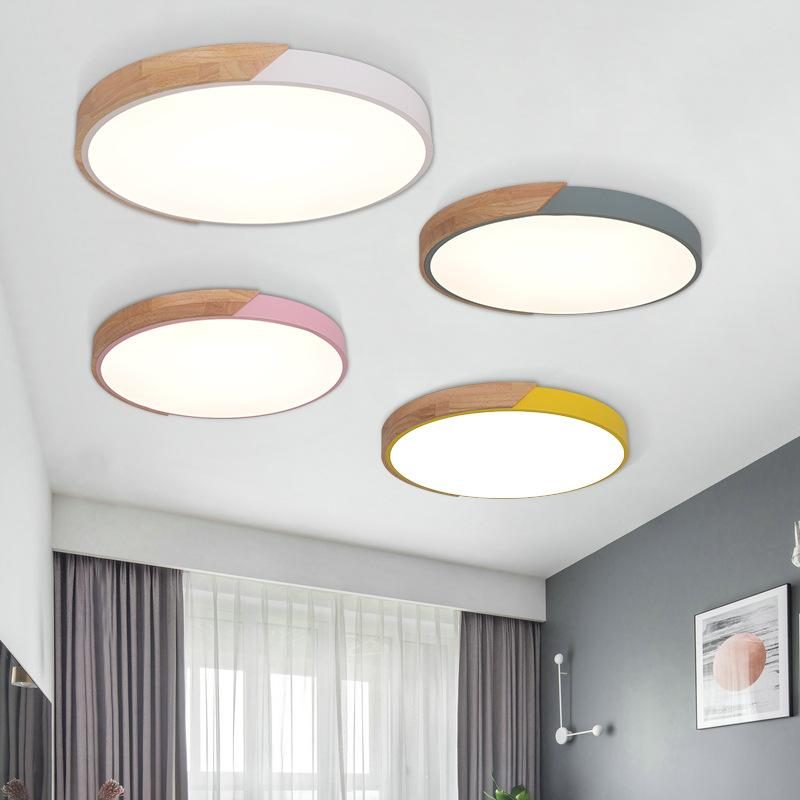 Ceiling Lights & Fans Enthusiastic Ultrathin Led Ceiling Light Modern Panel Lamp Lighting Fixture Living Room Bedroom Kitchen Surface Mount Flush Remote Control
