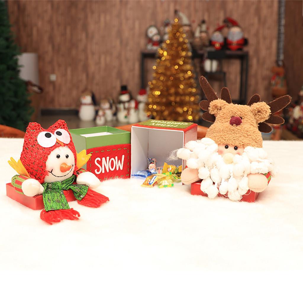 Frohe Weihnachten Musik.Frohe Weihnachten Kinder Weihnachtsmann Schneemann Elch Candy Verpackung Candy Box Schneemann Elektro Tanzen Musik Weihnachten Spielzeug Geschenke
