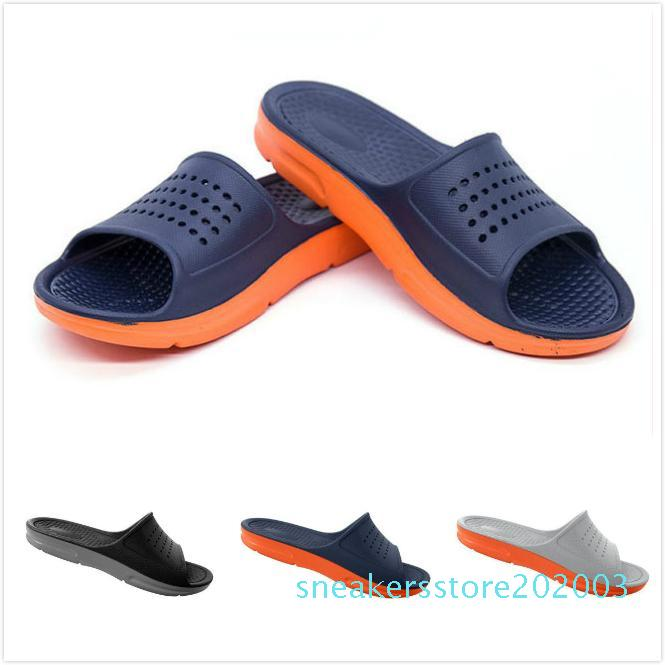 Large Size Slipper Summer Casual Fashion Mens flip flops Beach Sandals Men outdoor Flat Slippers Outside non-slip Shoes Sandals S03