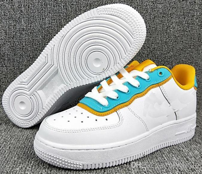 Forced 1 Low SE Wmns Air sole Skateboard Shoes AF 1 White Beige PINK Newest Fashion Upper Brand Designer Women Basketball Shoes 00