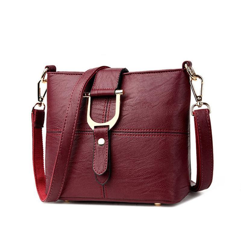 5a9f2f40f93 Women Handbag Female Pu Leather Bags Handbags Fashion Designer Ladies  Portable Shoulder Bag Office Ladies Hobos Bag Totes 2584 Leather Briefcase  Wholesale ...