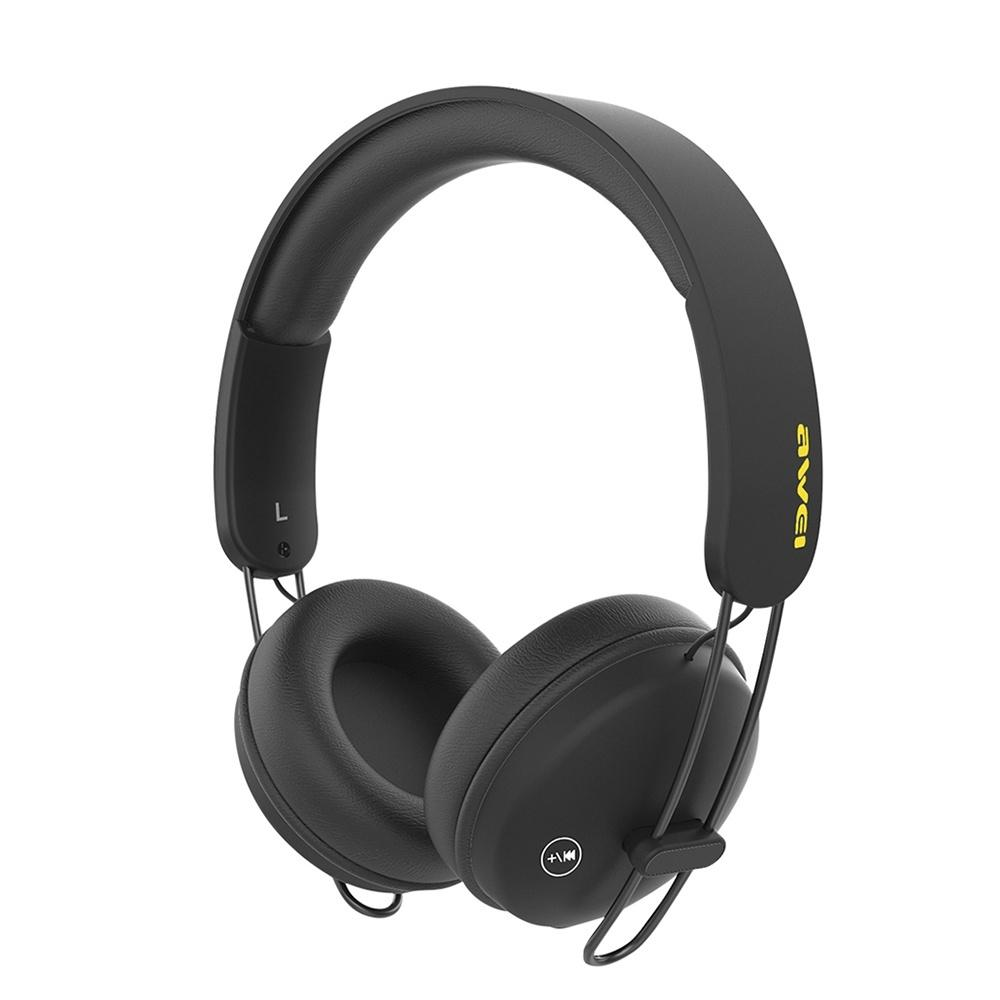 Awei A800BL Bluetooth Headphones Wireless Bluetooth Sports Headset With  Microphone Sports Control App For IOS Android