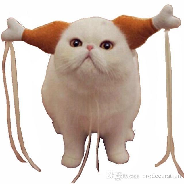 149e19d709 2019 Lovely Turkey Chicken Drumstick Headband Dog Cat Headdress Chicken Leg  Hair Hoop Wedding Party Funny Props Pet Headdress Lovely Accessories From  ...
