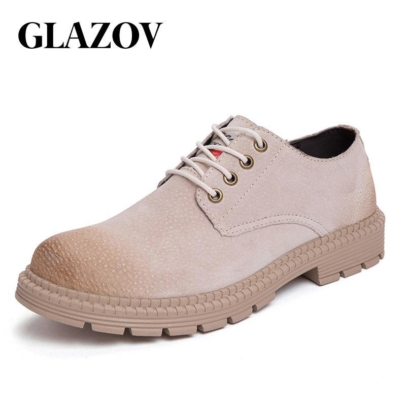 Zapatos casuales de cuero de moda para hombre Mocasines de ocio cómodos Vestido barato Calzado masculino Trabajo Zapatos Oxford de niño elegantes para
