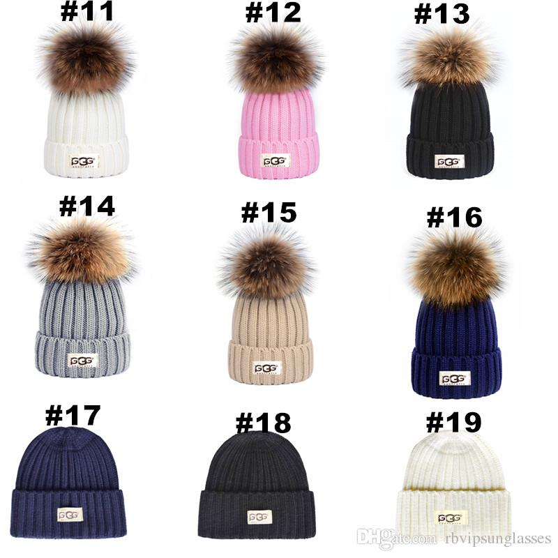 5ee494002 Newest Australia Beanies Classic Pom Pom beanie for Men and Womens Snow  Winter Hats Casual Outdoor Caps Accept Mix order