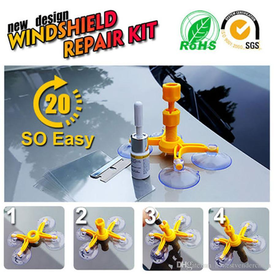 Windshield Repair Kit >> Diy Windscreen Windshield Repair Tool Set Diy Car Wind Glass Kit For Chip Crack Car Styling Car Accessories Safety Motocycle