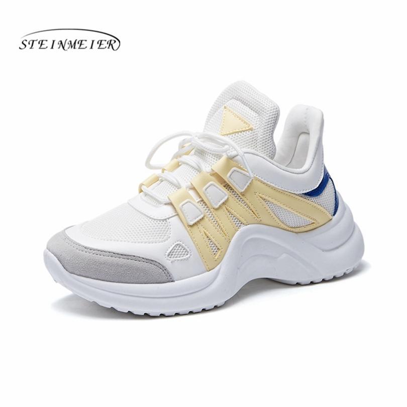 75e3b389f31 Compre Mulheres Casuais Planas Sapatos Vulcanize Sapatos De Plataforma De Moda  Feminina Lace Up Flats Alta Lazer Calçados Femininos Mulher De Paradise12
