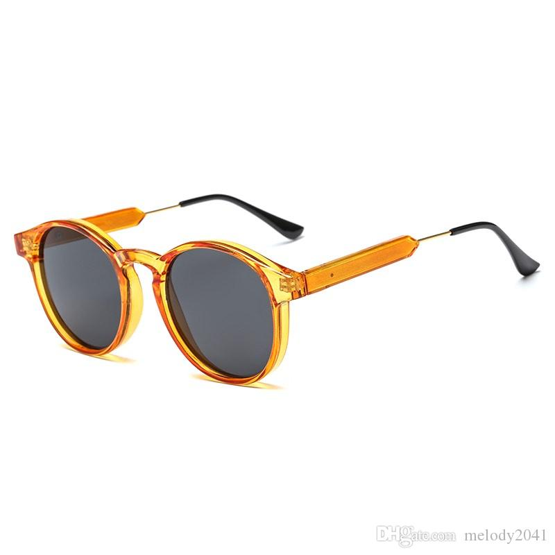 d2156f804a22 Classic Men Or Women Round Sunglasses Plastic Frame Vintage Round Sun  Glasses UV400 Wholesale Eyeglasses Bifocal Sunglasses Retro Sunglasses From  Melody2041 ...