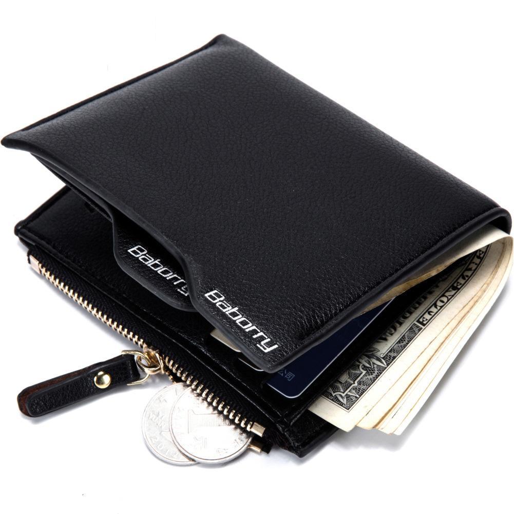 ea6e062102b95 Satın Al 2019 Hırsızlık Para Çanta Erkek Fermuar Çanta Cüzdan Korumak Ünlü  Marka Erkekler Cüzdan Yeni Tasarım Erkek Para Çantalar Cüzdan, $14.35 |  DHgate.