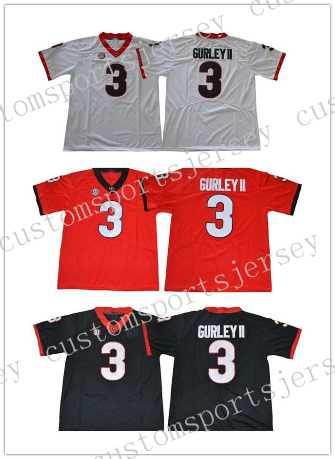 Cheap Wholesale Georgia Bulldogs Todd Gurley II  3 College Football ... 57e259e43