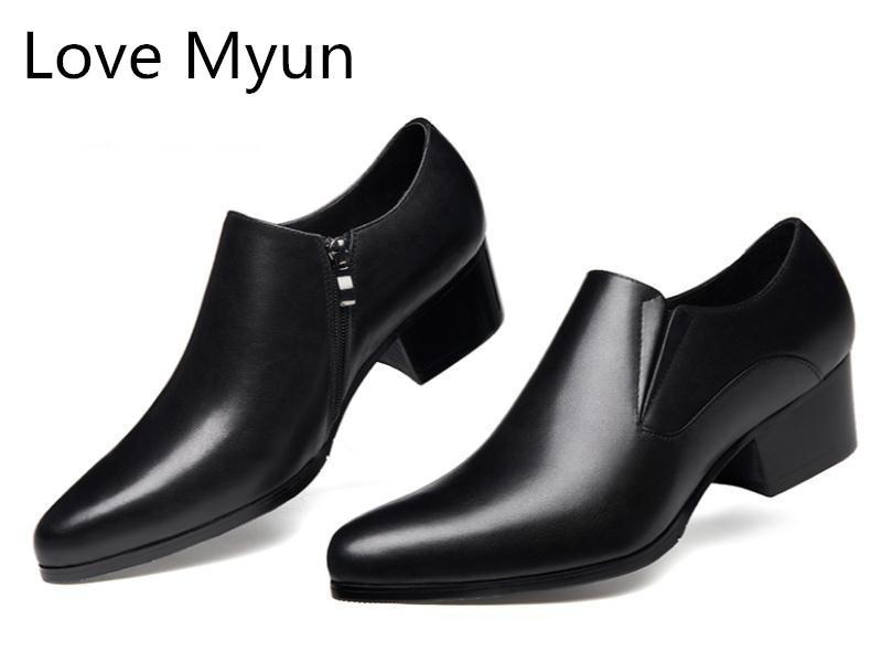 high heel sneakers for men