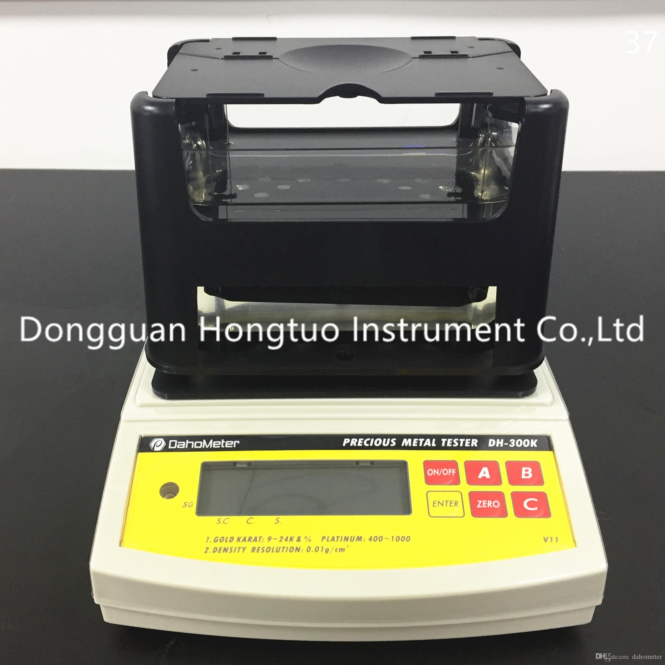 DH-300K Gold Purity Tester Professional Jewelry Precious Metals Gold Testing Machine With Good Quality By Free Shipping