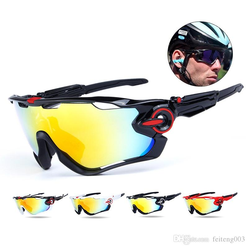 2eacec2b028 2019 2018 Obaolay Sports Sunglasses 3 Lens Mountain Road Bicycle Goggles  Unisex Cycling Sports Polarized Glasses Eyewear Equipment  110105 From  Feiteng003