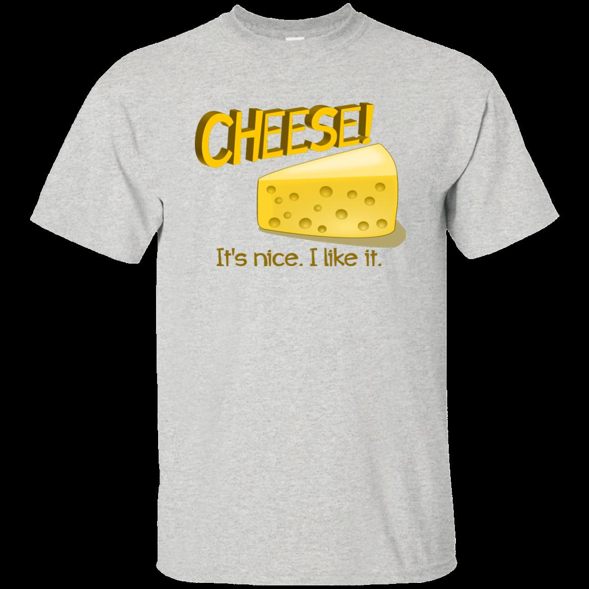 3597d829 Cheese! It's nice, I like it. Fromage Fan Foodie Wine Crackers Funny TShirt  Funny free shipping Unisex Casual