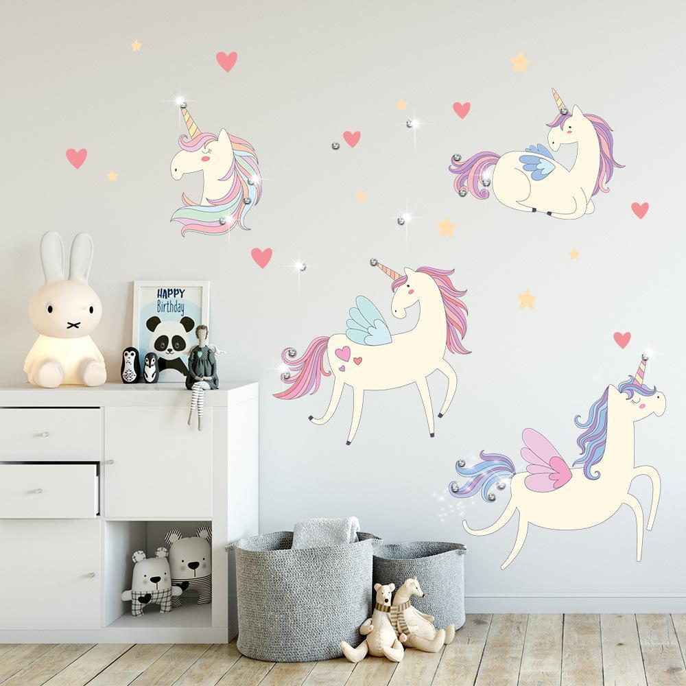 Children\'S Room Self Adhesive Wall Sticker Bedroom Decorative ...