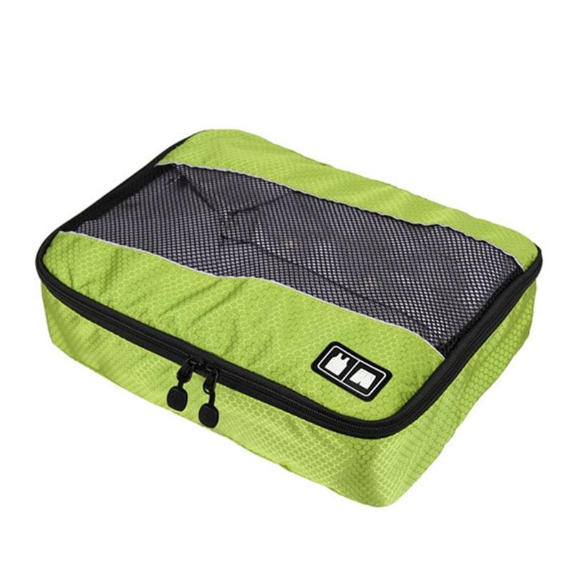 3 Pcs/Set Clothing Packing Cubes Travel Bag for Shirts Pants Garment Bags Luggage Organizers LXX9