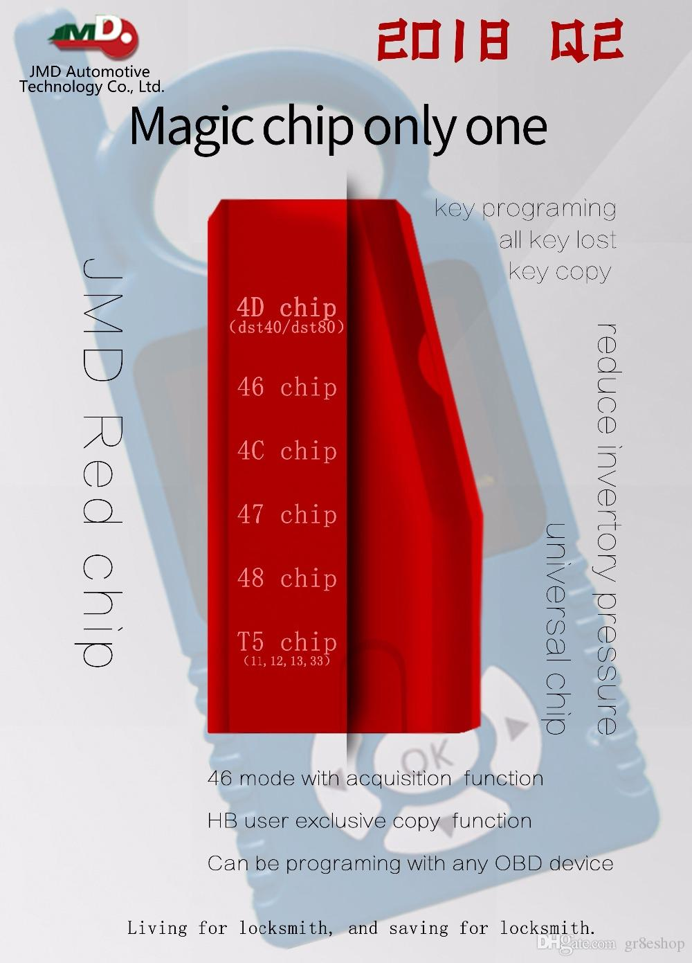 Los chips universales Handy Baby Multifunción CBAY Super Red Chip reemplazan el chip JMD 46/47 / 4C / 4D / G / KING / 48 / T5