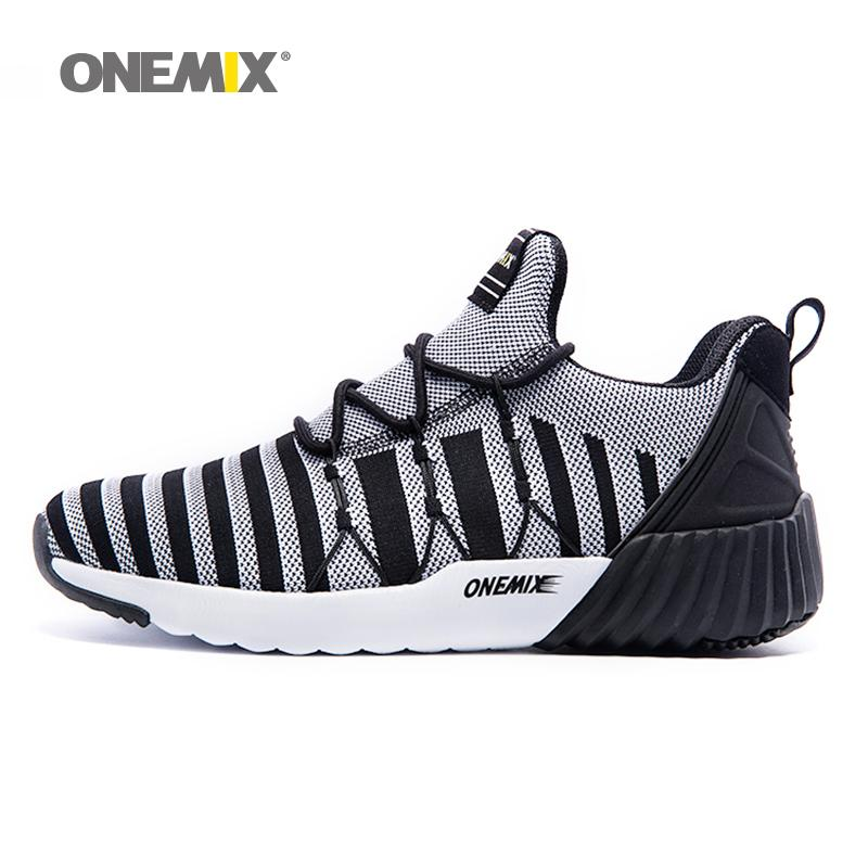 45e6ffad4 2019 Running Shoes For Men Lightweight Sneakers Comfort Breath Sports Shoes  Jogging Walking Athletics ONEMIX From Teahong, $145.57 | DHgate.Com