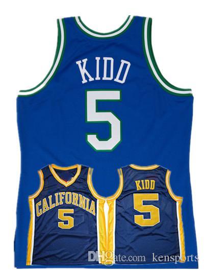 a6facd35418 2018 Men S California Golden Bears Jason Kidd College Basketball Jersey  Vintage Navy Blue  5 Jason Kidd Shirts University Stitched Jerseys S XXL  From ...