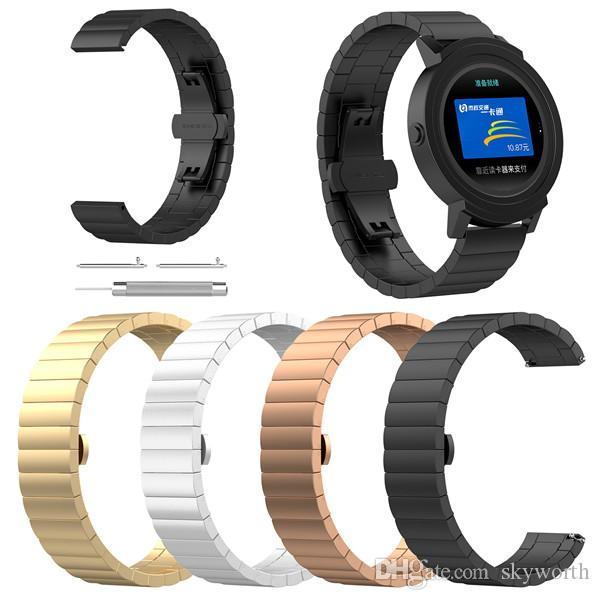 Solid Metal Band For Samsung Gear S2 S3 Classic Galaxy Watch Active