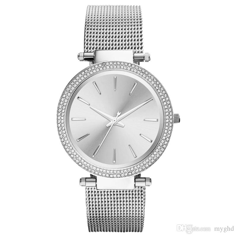 e048b1b4cc53 JAPAN MOVEMENT DROP SHIPPING NEW MK3367 MK3368 MK3369 LADIES ROSE GOLD MESH  DARCI WATCH Couple Watches Buy Clothes Online From Myghd