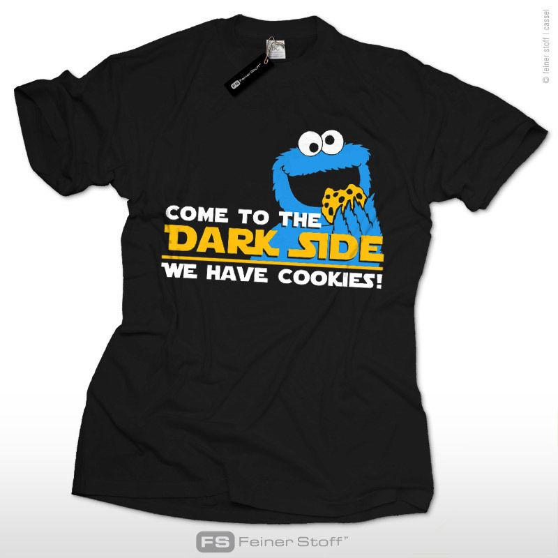 1dd3440663 Come To The Dark Side Star We Have Cookies Krümelmonster Wars T Shirt Fun  Kekse Funny Unisex Casual Tshirt Top Awesome T Shirts For Sale White T  Shirts With ...