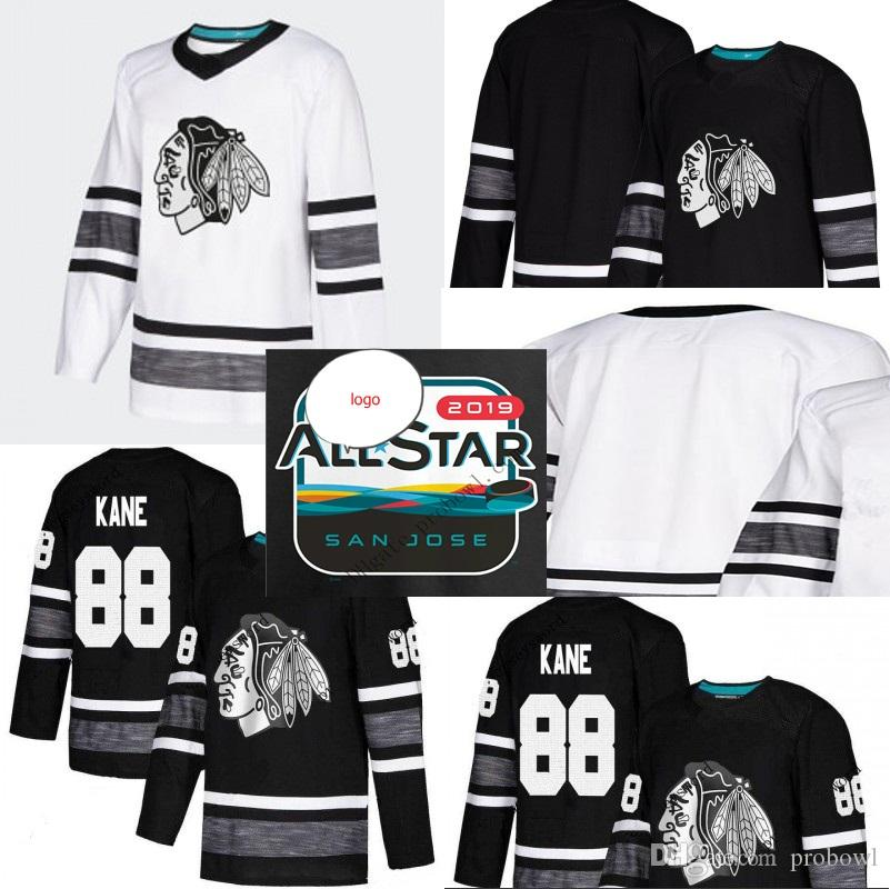 2019 Chicago Blackhawks 2019 ALL STAR Jerseys Jonathan Toews Patrick Kane  Alex DeBrincat Duncan Keith Corey Crawford Brent Seabrook From Probowl 769d0f8fd