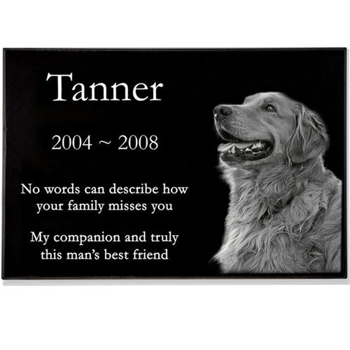 6 sizes, Laser Engraved on the Grave Marker Granite, Personalized Pet  Headstone, Pet memorials Plaque headstones, Dog stone