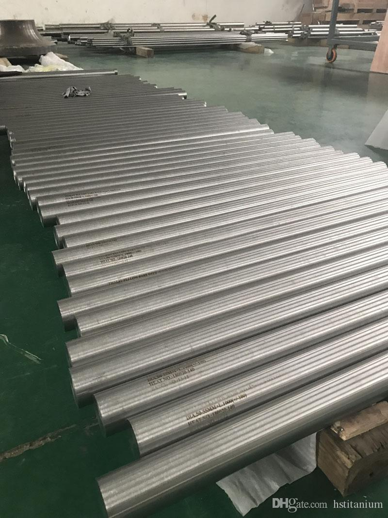 TI-6AL-4V gr5 titanium Round bar price for machine ASTMF136 Titanium GR5  Eli bar Titanium bar with Singapore for quality inspection