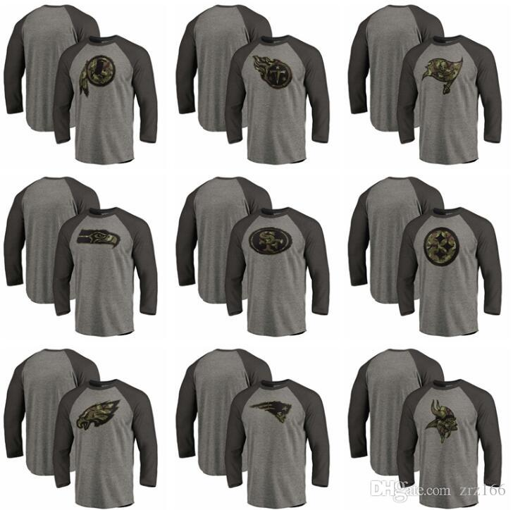 Nouveau sweat-shirt Top qualité HOMMES Eaglesd Steelerss de Seahawkss Buccaneerss Titanss Redskinss 34 T-shirt manches