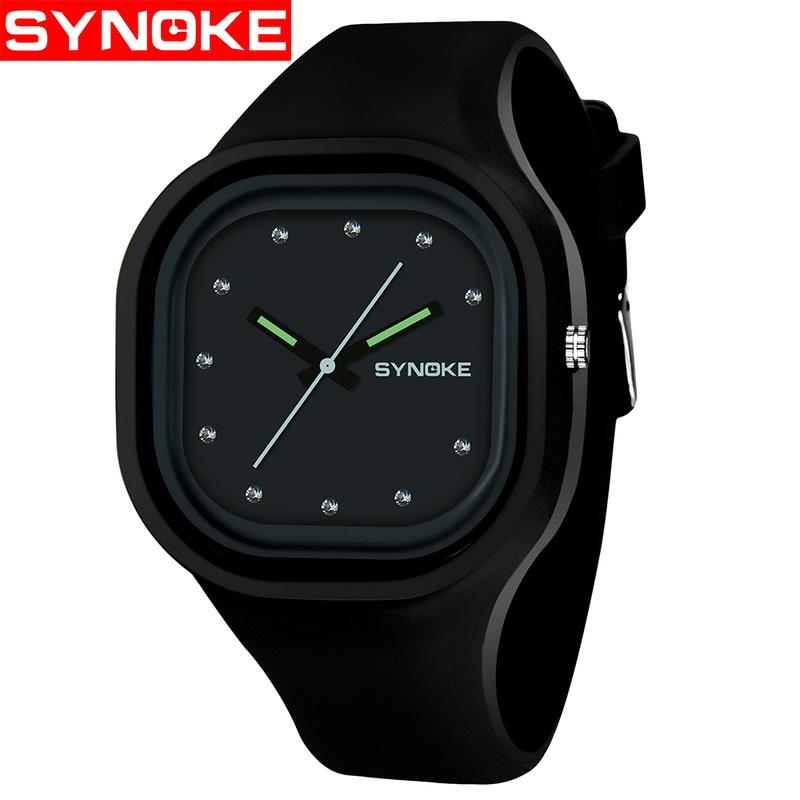 fcf2a01aa SYNOKE Boys Student Children's Watches Colorful Waterproof Sports Watch  Brand Women Girls Silicone Digital Date Wrist Watch