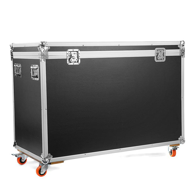 Pass-case de grande capacité Flight-case Conteneur de transport de haute qualité Quakeproof En alliage d'aluminium Valises Spinner Bagagerie
