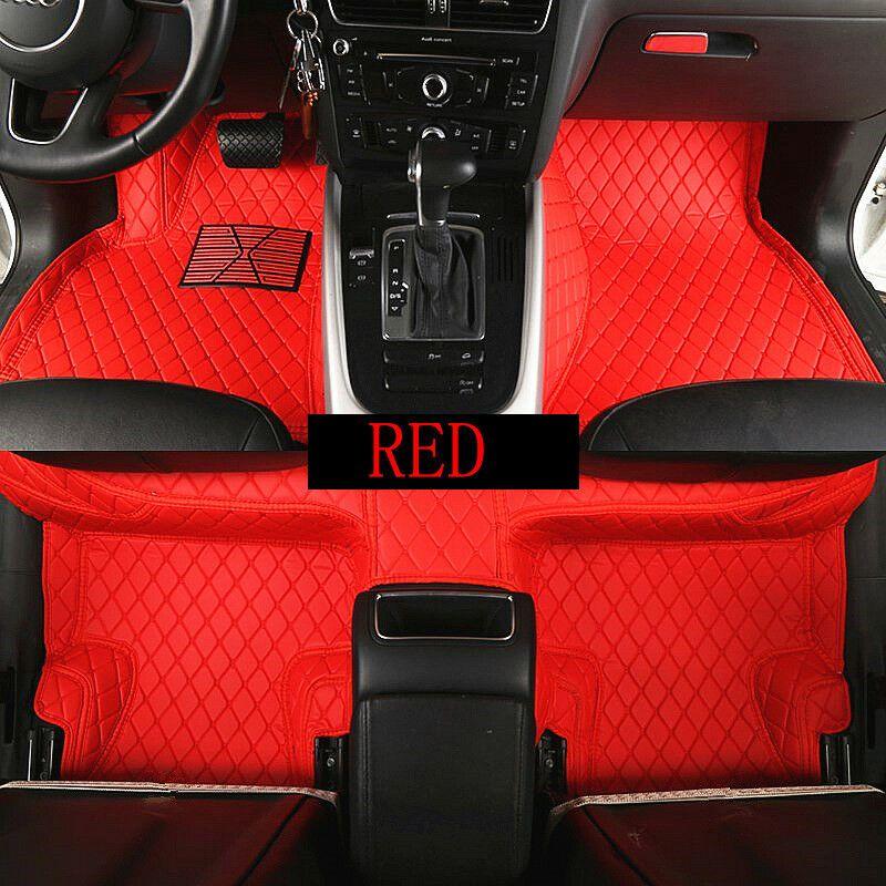 For Honda accord 2005-2018 Car Floor Mats Front Rear Liner Waterproof Auto  Mats