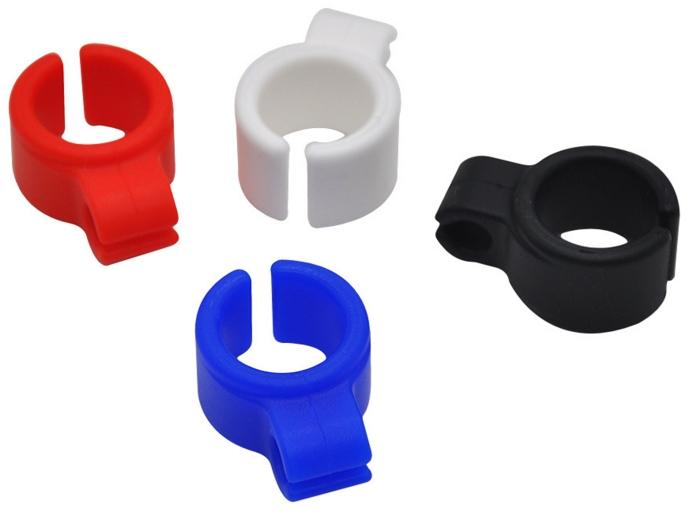 Cigarette Rings Silicone Smoking Holder Ring Tobacco/Joint Holder Rings for Regular Size (7-8mm) Cigarette Smoking Accessories Tools DHL
