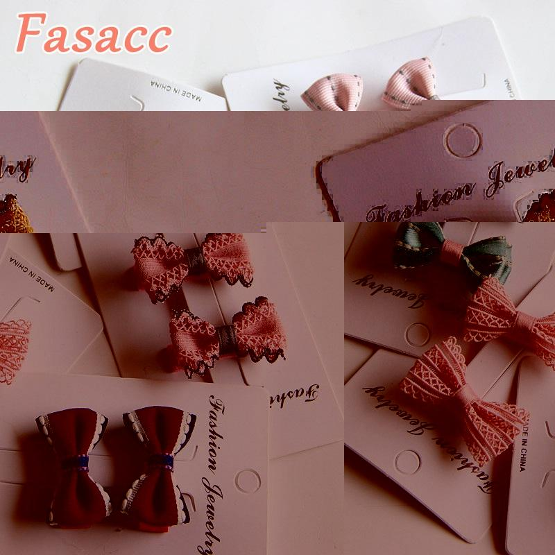 2pcs/Lot Children Hair Clips Small Hair Bow Clip Baby Barrettes BB Clip Little Girls Gifts Korean Kids Hair Accessories