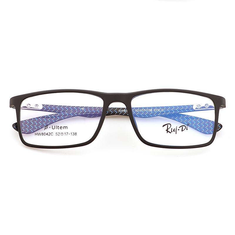 b83d1d9864b 2019 2018 New Carbon Fiber Glasses Men S Optical Frames Ultra Light Glasses  HW8042C From Huazu
