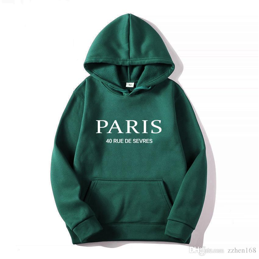 Fashion Designer Hoodies Men Brand Pullover Hoodie Long Sleeve Sweatshirt Jacket Paris print Hoodie luxury Sweatershirt women Mens Clothing