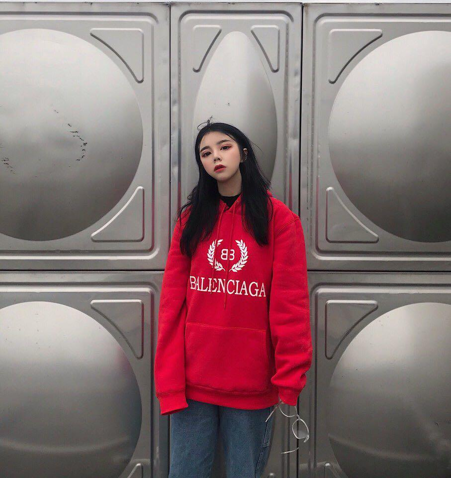 2019 Women Sweater Big Red Trend Casual Street Hoodie Cotton Plus Velvet  Warm And Comfortable High Quality Fabric High End Couple Jacket From  Jinzhongyu 14a6d0362