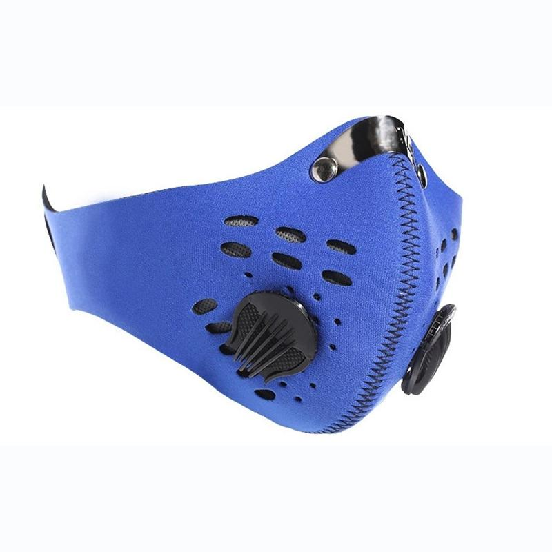 Outdoor Sport Filter Mask CyclingDust-proof Activated Carbon Half Mask Dust-proof Camping Windproof Cycling Face Protector