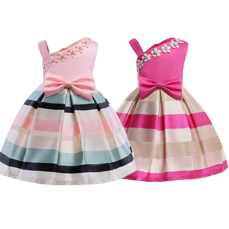 45d8618be3d1 Girls Summer Princess Dresses Children's Party Tulle Prom Gown Formal Dress  2-10 Years Kids European and American Dress