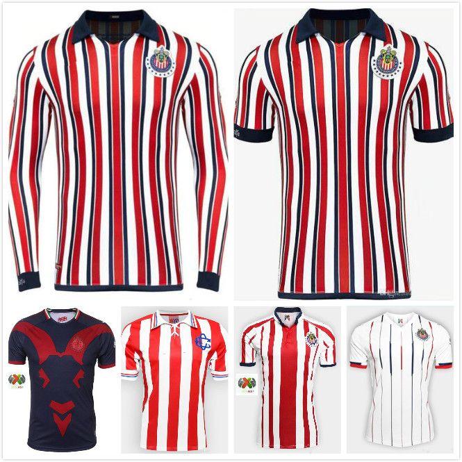 outlet store 2ccf1 58382 New 2019 MEXICO Club Chivas de Guadalajara home 3rd away club world Soccer  Jersey thai quality Home away A.PULIDO LOPEZ Football Shirt 2018