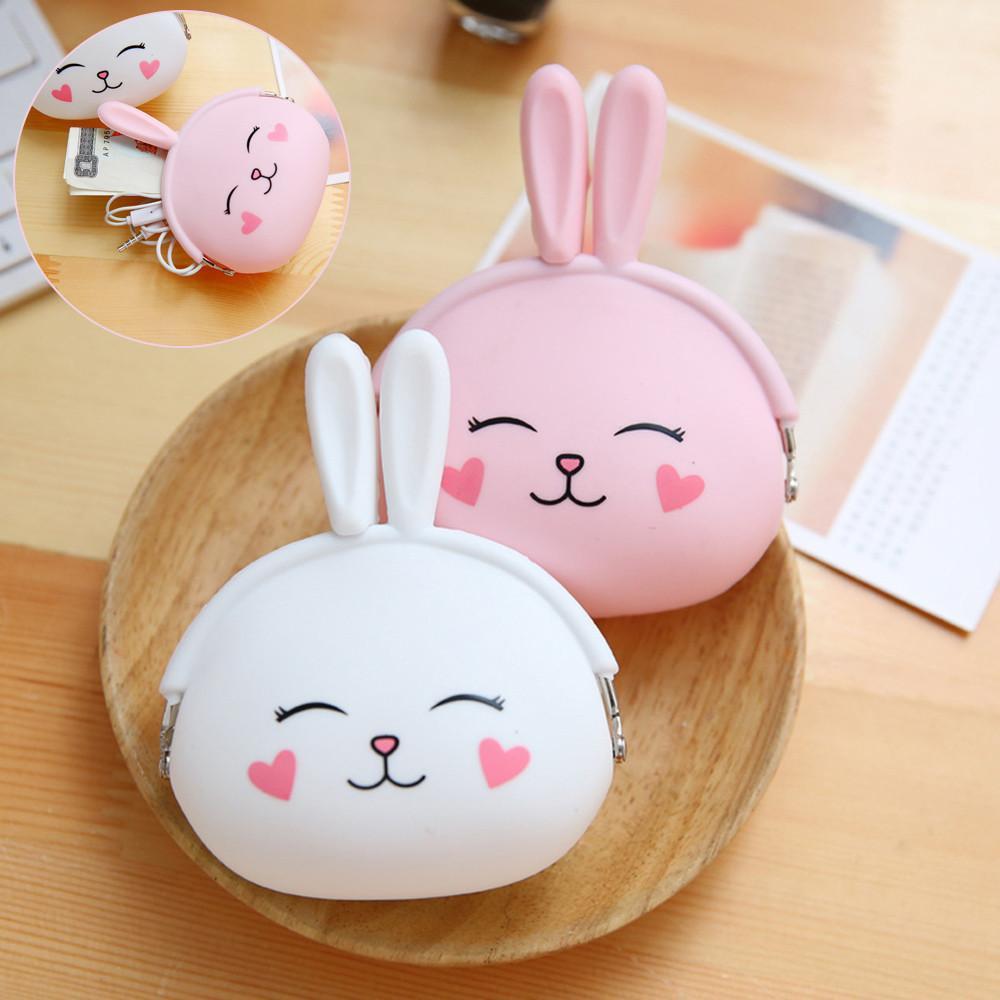 Cute Bunny Rabbit Coin Bag Key Bag Women
