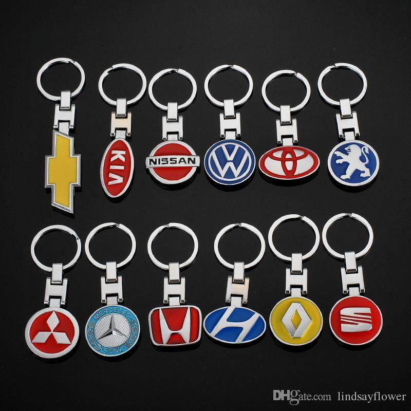 BLACK Leather Metal CAR Logo Key chain Keyring pendant key holder FIT FOR MAZDA