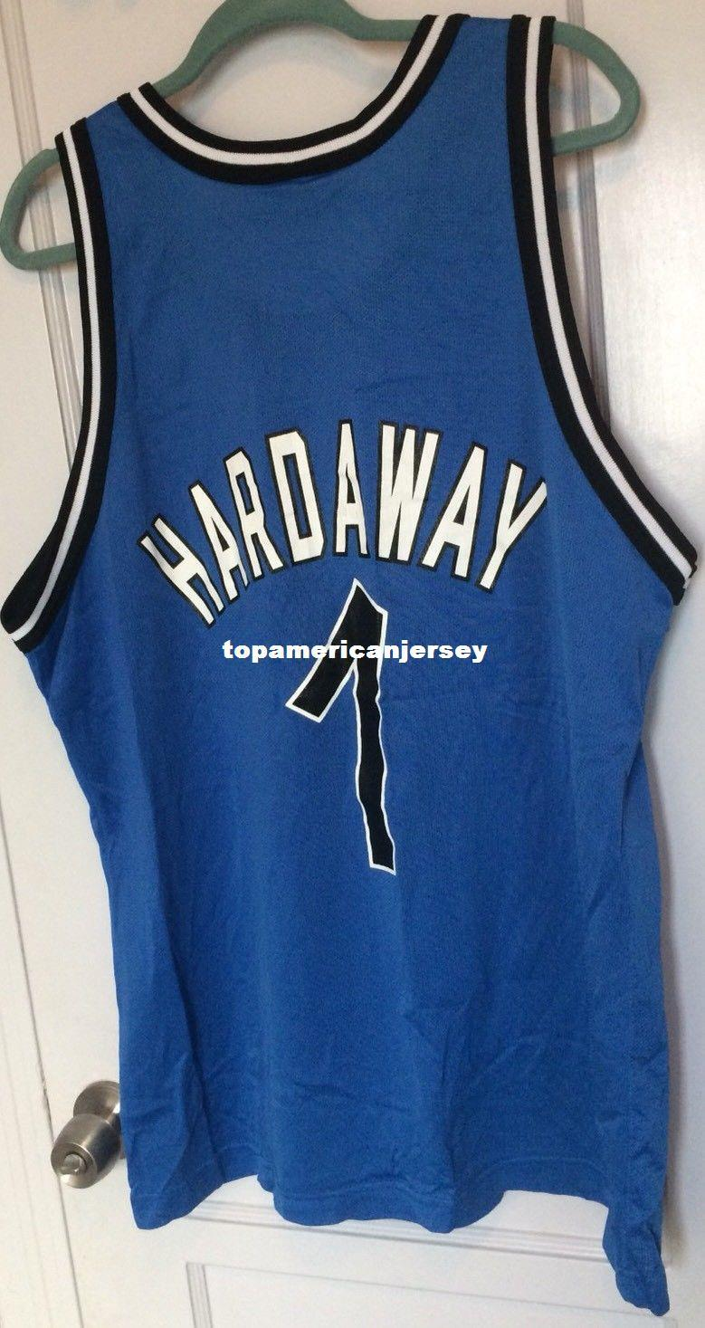 official photos 070a4 281a4 Cheap wholesale Penny Hardaway Jersey Blue #1 T-shirt vest Stitched  Basketball jerseys Ncaa