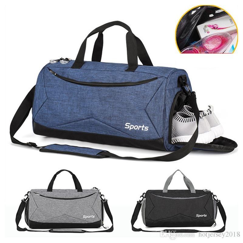1f904f25ef3e 2019 Yoga Fitness Gym Bag Sac De Sport Bags Dry Wet Handbags Swimming For  Women Men Shoes Tas Travel Training Waterproof  214524 From Hotjersey2018