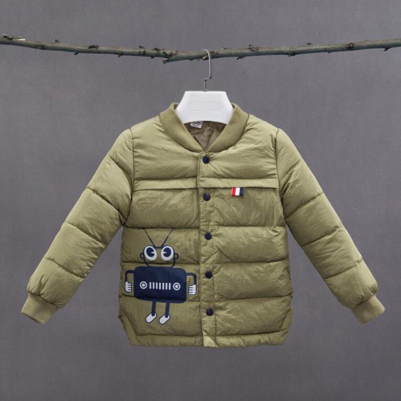 498b6cf07d35d good quality Children Boys Coats Winter Worm Kids Outwear Cartoon Boys  Outwear Baby Child Coats Infant Clothing For Boys
