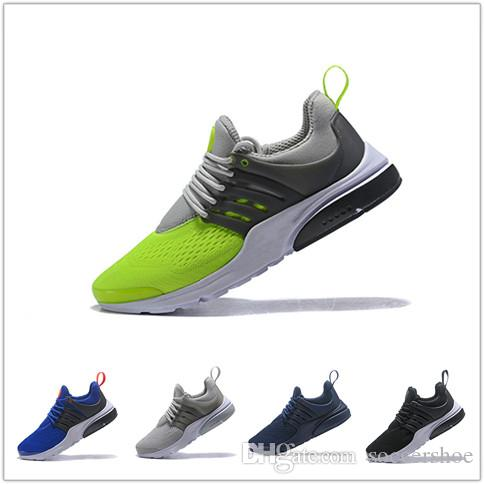 6ea24e9d662 New 2018 Presto Fly Ultra Olympic BR QS Men Women Running Shoes Navy ...