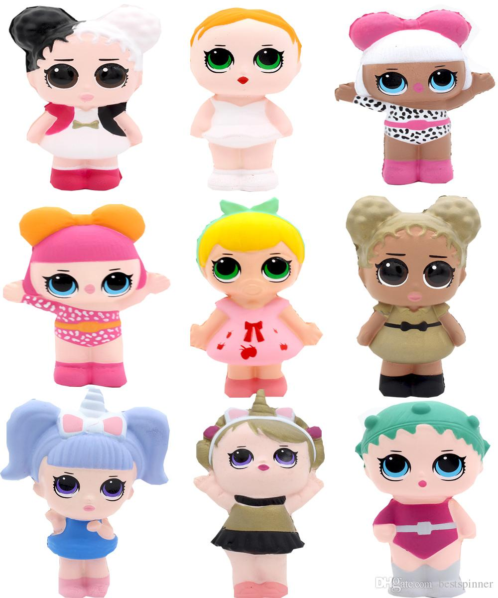 15 Styles Squishy Lol Surprise Dolls Slow Rising Kawaii Squishies Lol Dolls  Kids Toys Free Shipping
