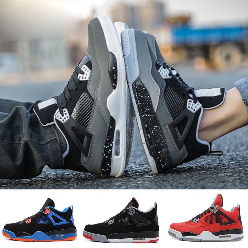 1e7277e11db7 New Cheap Pure Money 4 Mens Basketball Shoes 4s White Cement Raptors ...